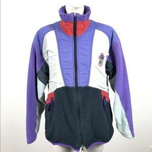 Vintage Adidas BTC Full Zip Jacket Windbreaker